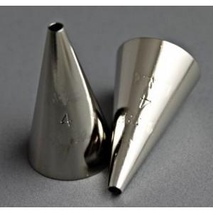 Накрайник за пош, кръгъл, малък, 0,35 см.