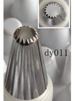 Накрайник за пош, звезда,малък, 0,8 см., DY11