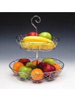Стойка за плодове - хром