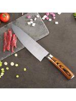 """Нож """"Главен готвач"""" - дървена дръжка 20 см."""