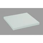 Дъска за рязане-полиетилен 50/50/10 см.-бяла