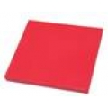 Дъска за рязане-полиетилен 49/49/5 см.-червена