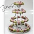 Метална стойка на 4 нива Cupcake